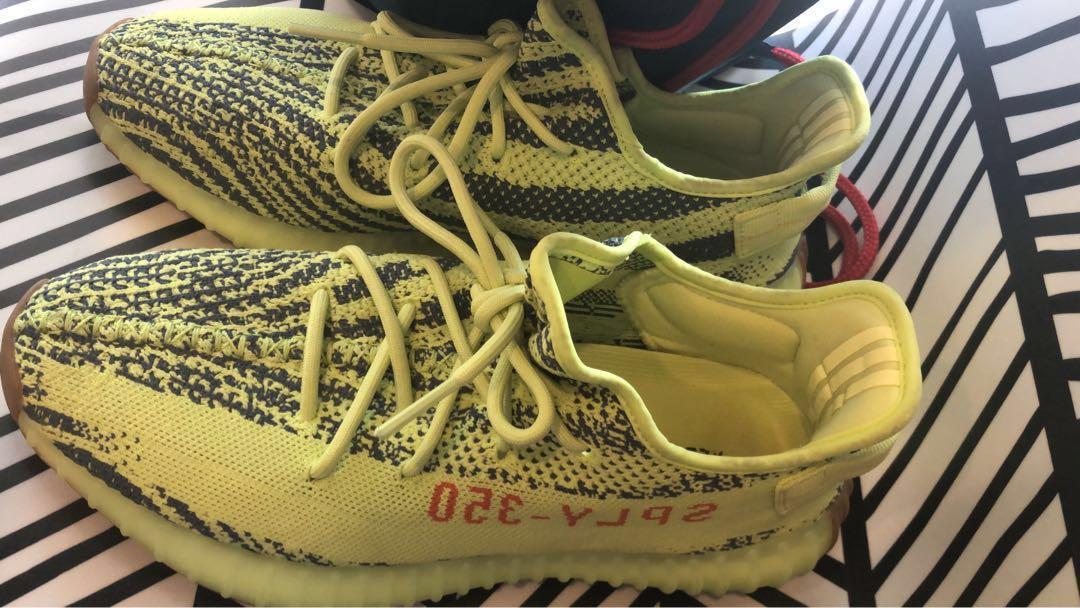 Adidas Yeezy Boost 350 V2 Semi Frozen Yellow 1d19722b45