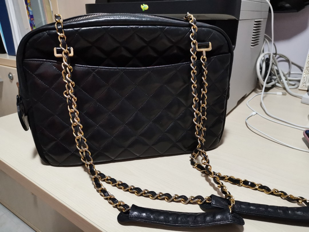 b695db7a9325 Authentic Chanel Shoulder BAG vintage, Luxury, Bags & Wallets ...
