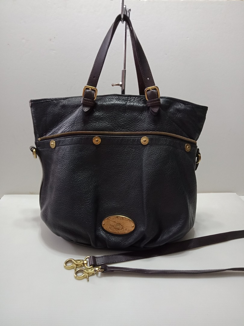 1d9366f647 Authentic Mulberry Leather Bag