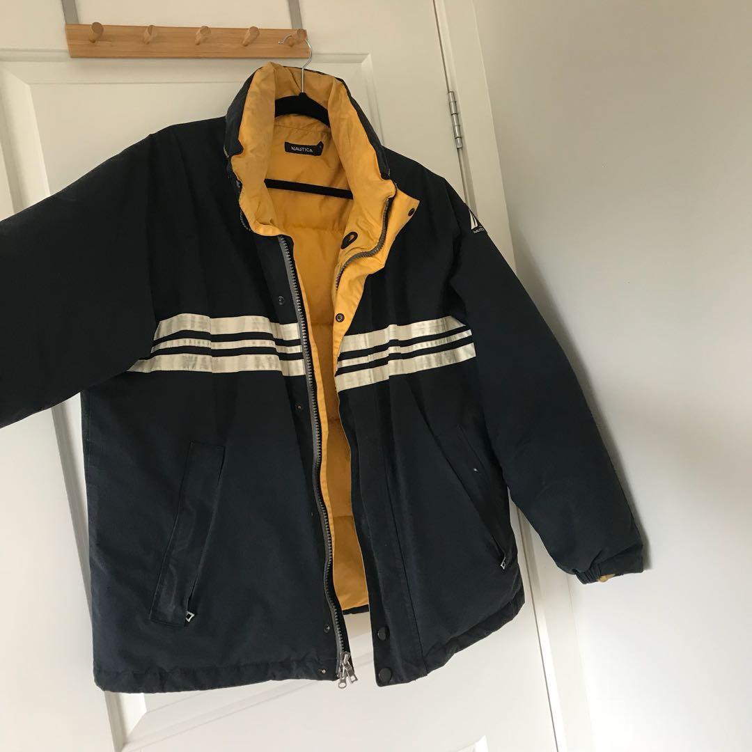 Authentic Vintage Nautica Down Puffer Jacket Women S Fashion