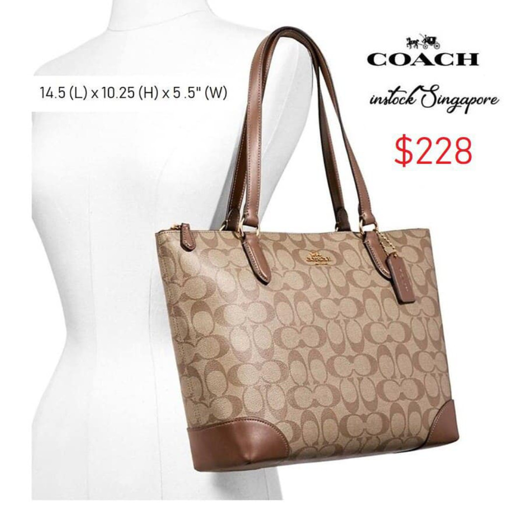 5856a939fafd Brand New Instock Authentic Coach Bag