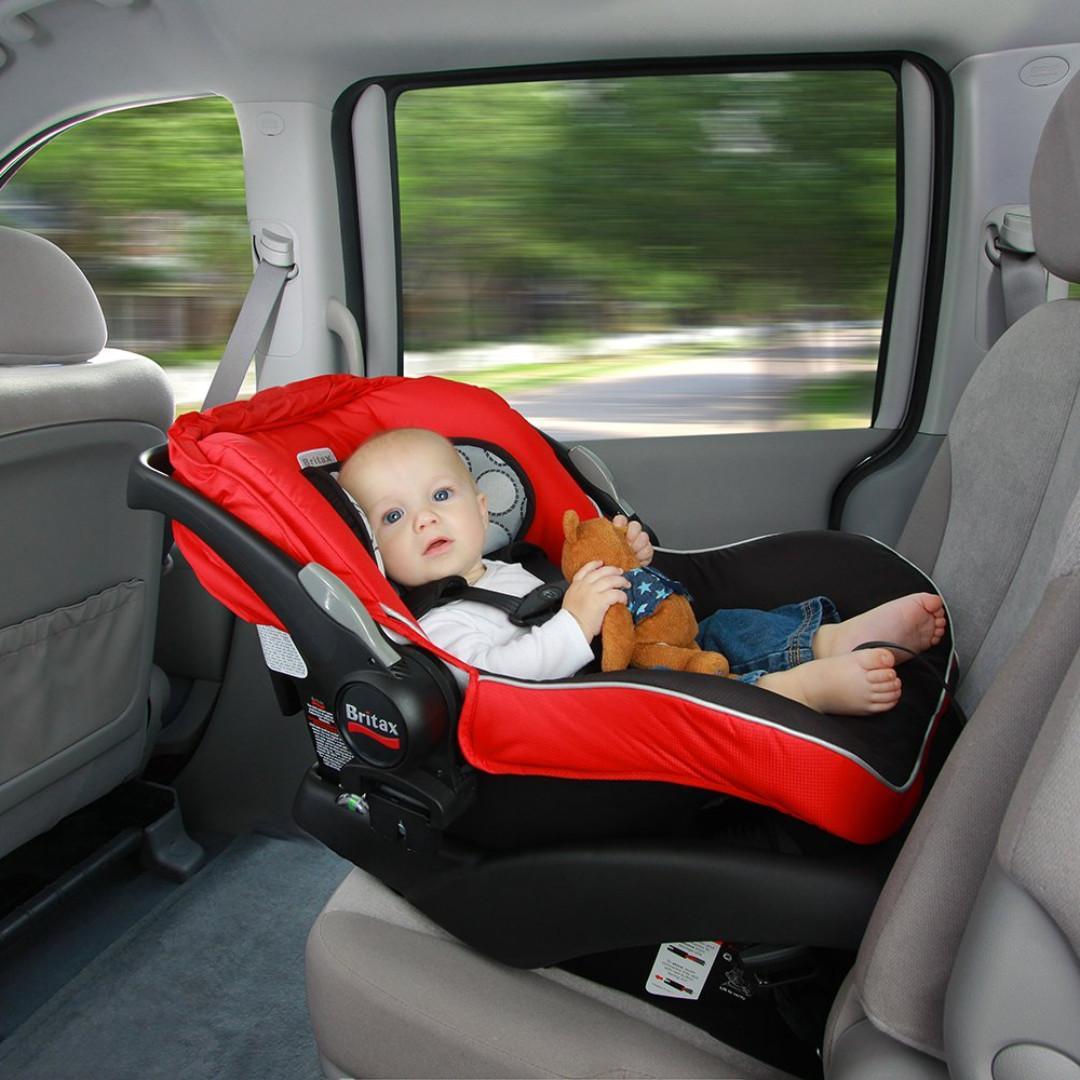 英國 Britax B-Safe Infant Car Seat Red 嬰兒汽車座椅 652182706173