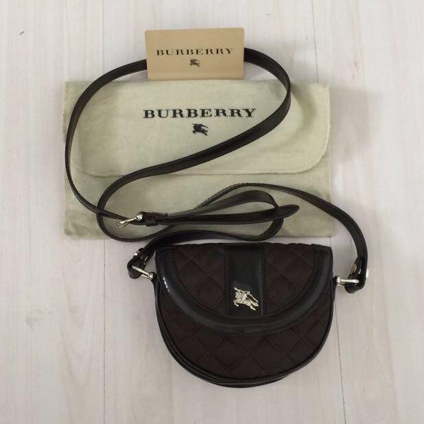 0edd4202edd2 Burberry Crossbody Waist pouch - Brown Col