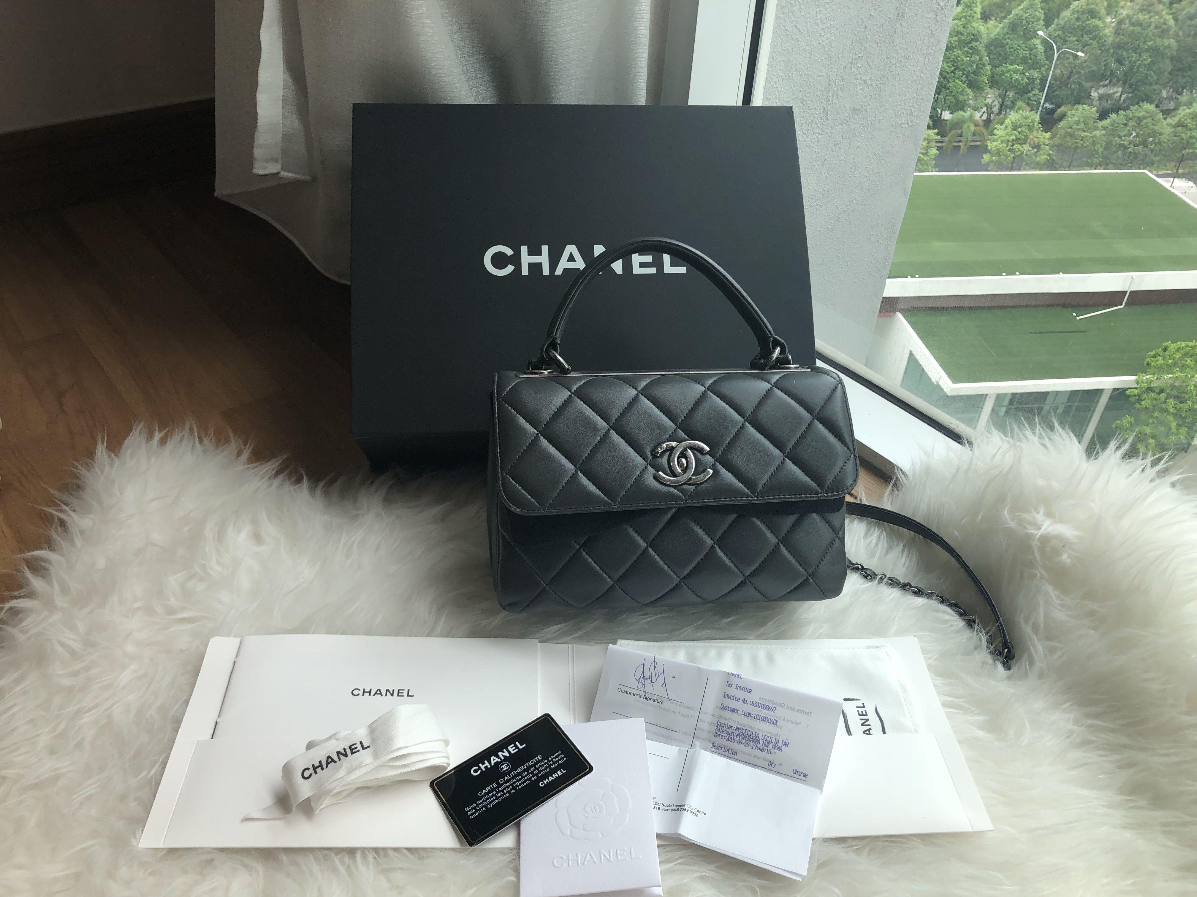 e801a120f401 Chanel Trendy Cc