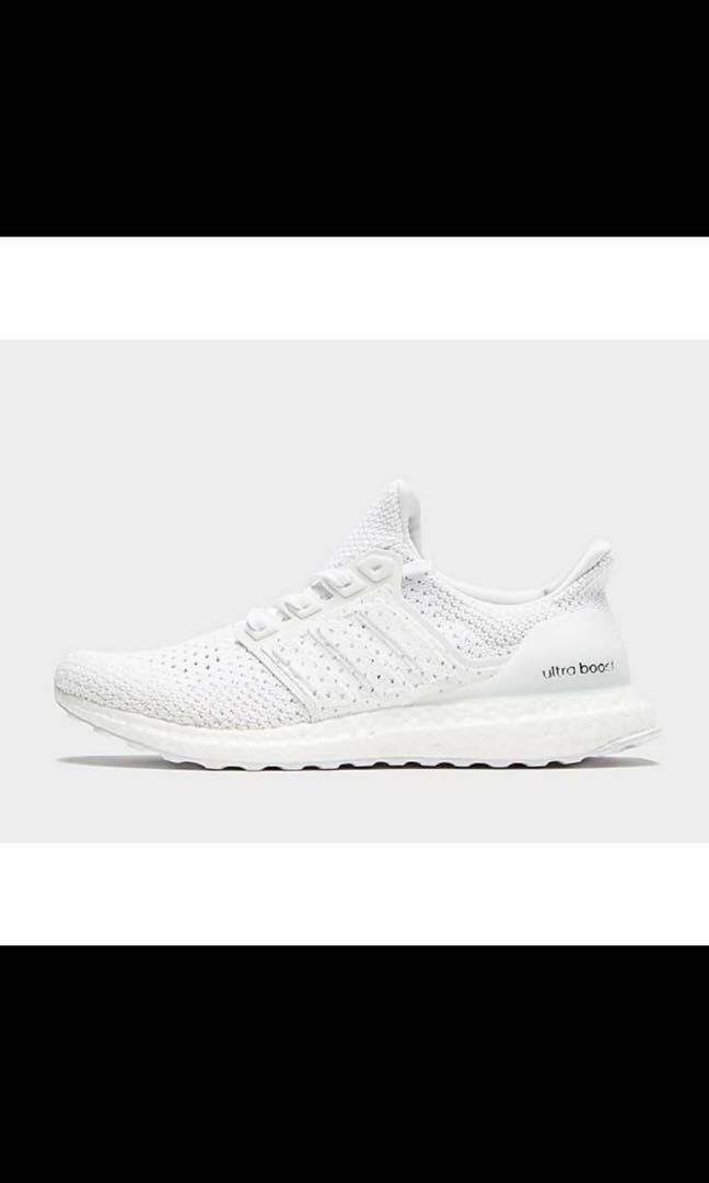 reputable site edeb1 bc6c5 Climacool Triple White Ultraboost US9