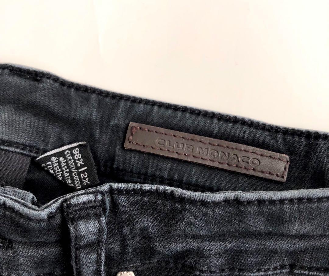 Club Monaco (USD $149) black skinny jeans. Size 25. NEW!!