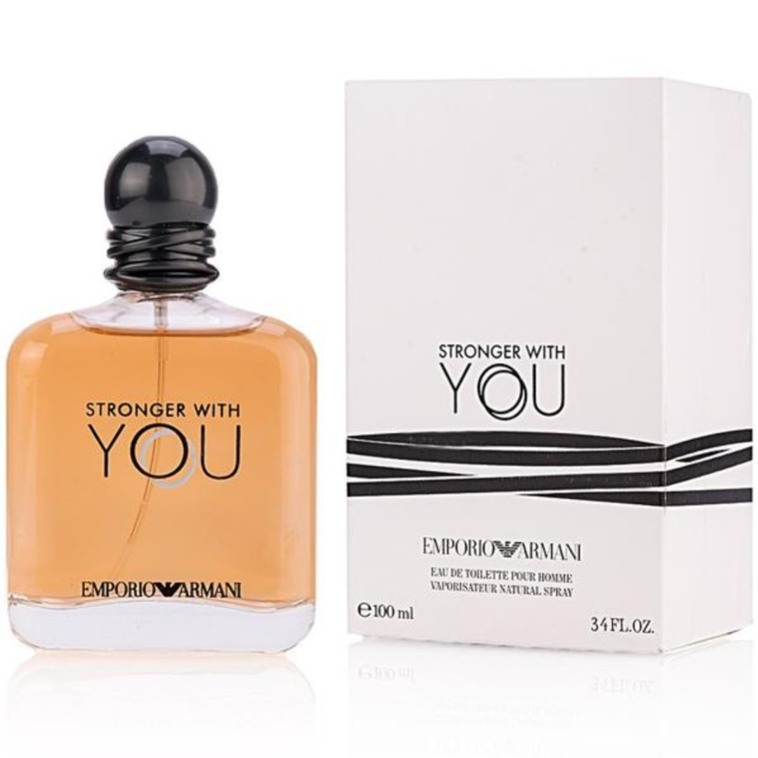 9f1d89ed441 EMPORIO ARMANI STRONGER WITH YOU EDT MEN 100ML TESTER