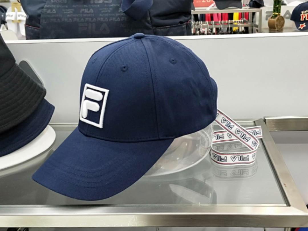 7420f676fcd FILA Cap unisex couple cap fila authentic original