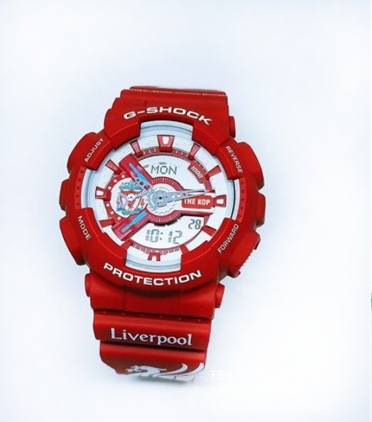 68c3333c1b4f G Shock Liverpool Men Limited Edition Watch