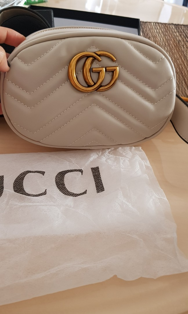 ea871b81a03 Gucci marmont belt bag (replica)