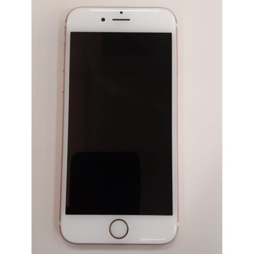 Handphone HP Iphone 6s 16GB Second Rosegold FULL SET LENGKAP 39e27d7fba