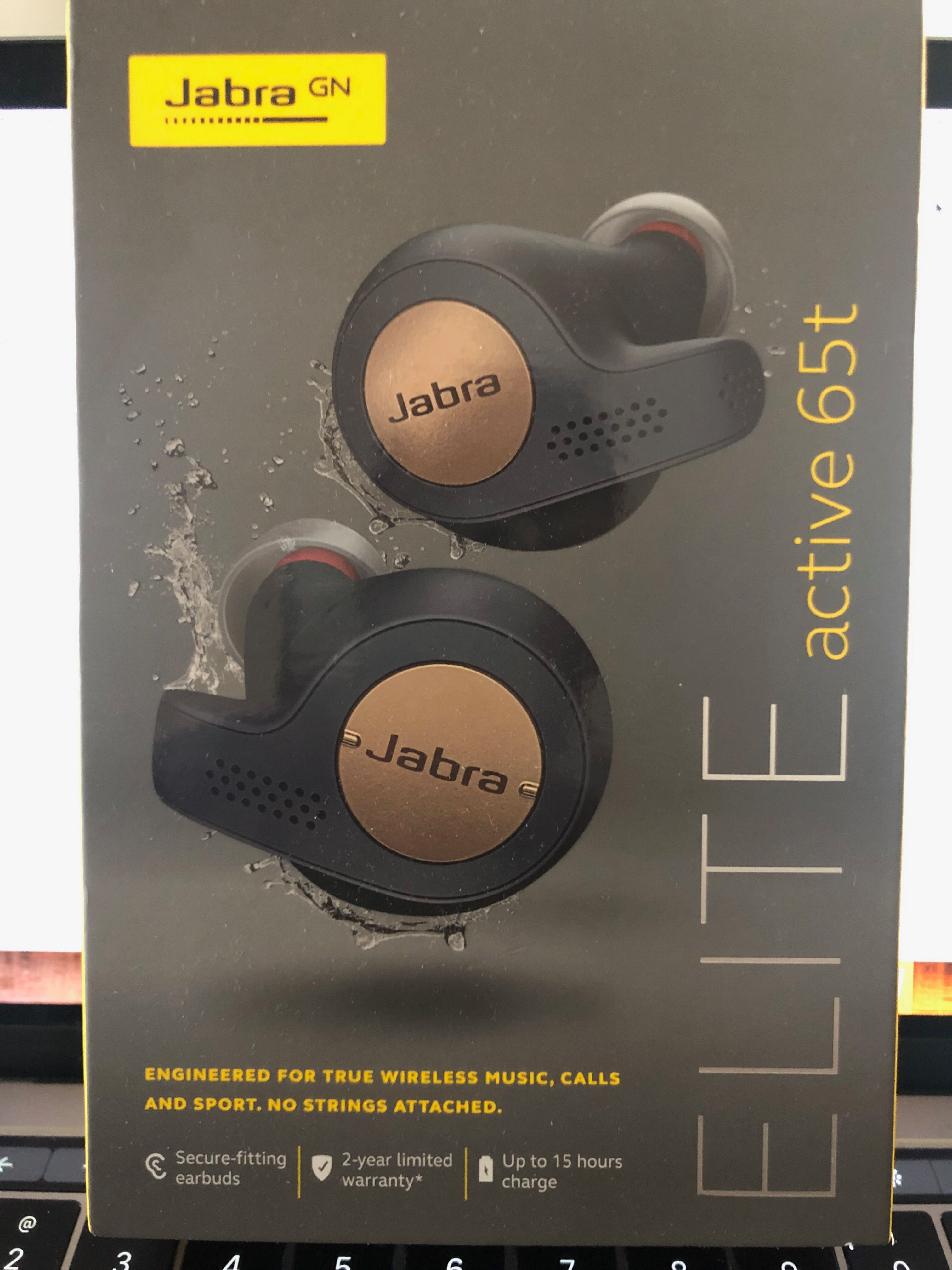 Jabra Elite Active 65t  Sealed  Brand spanking new! Price is
