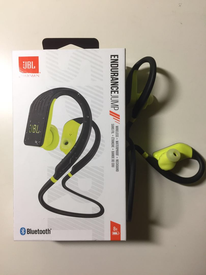 6784ed47679 JBL Endurance Jump wireless earpiece, Electronics, Audio on Carousell