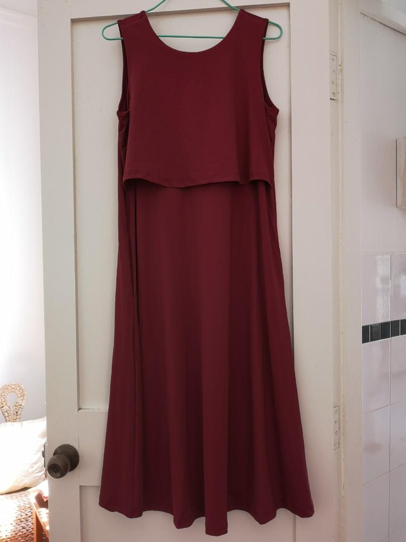 2bb13760a4633 Brand new Jumpeatcry Ally Midi Nursing dress, Women's Fashion ...