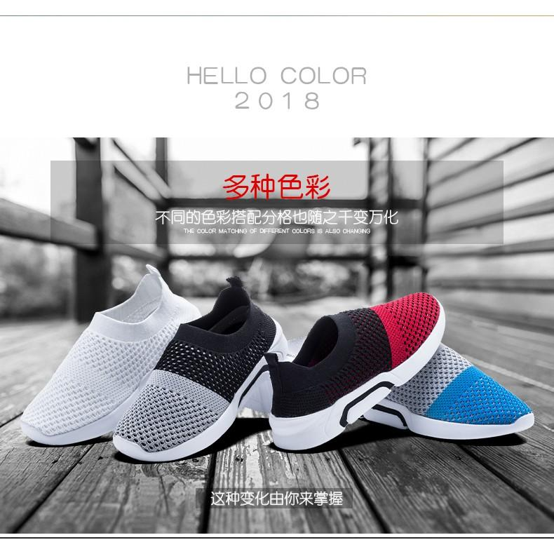 Baby Kids Flat Sneakers Girls Socks Shoes Casual Boys Athletic Sports Shoes