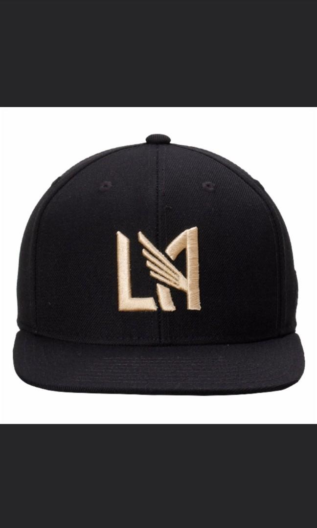 LAFC Men s Adidas Black Snapback Cap 3e875ea713e1