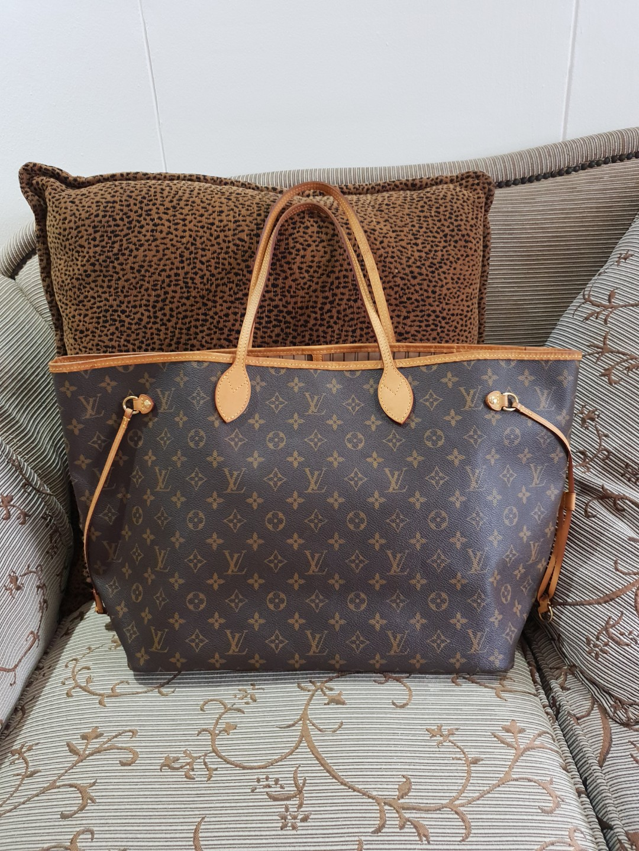 f062e1403d83 Louis Vuitton LV neverfull gm monogram