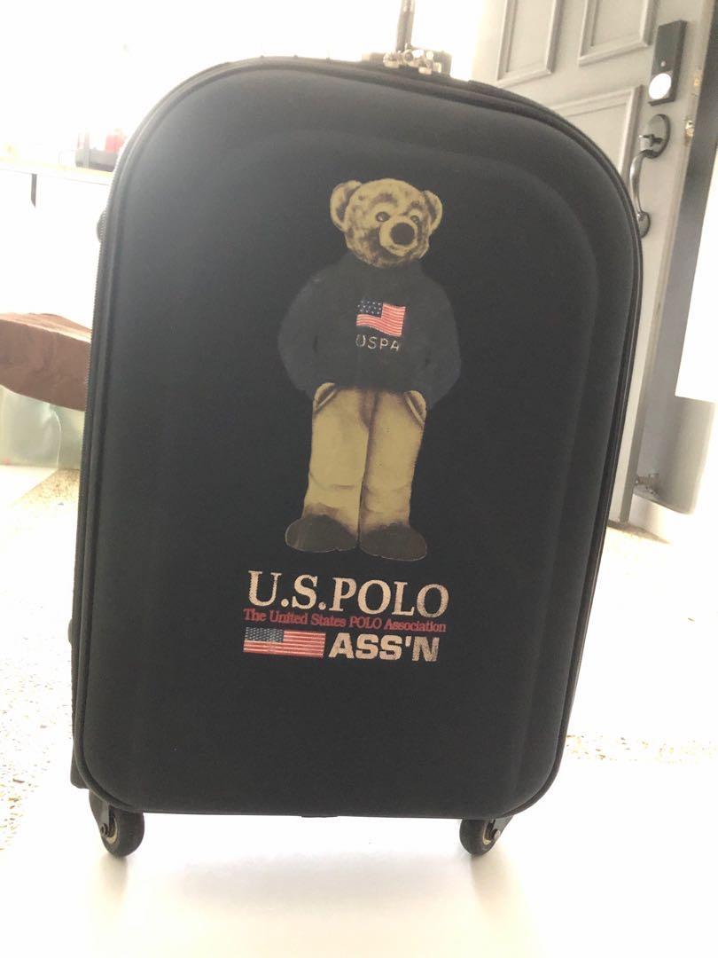e75be98c18 Luggage us polo, Travel, Travel Essentials, Luggage on Carousell