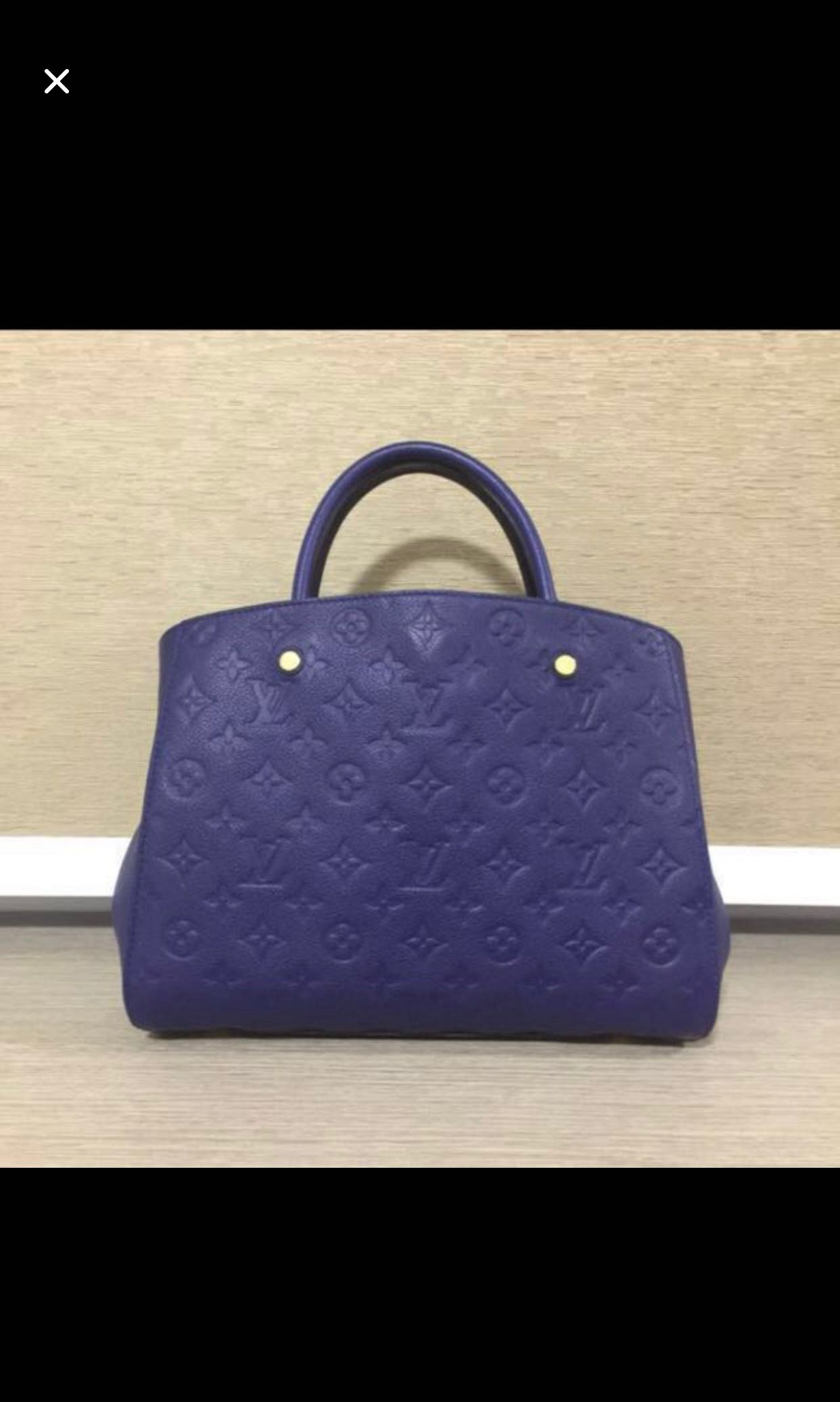 LV Louis Vuitton Montaigne MM 22aa1c504dbdc