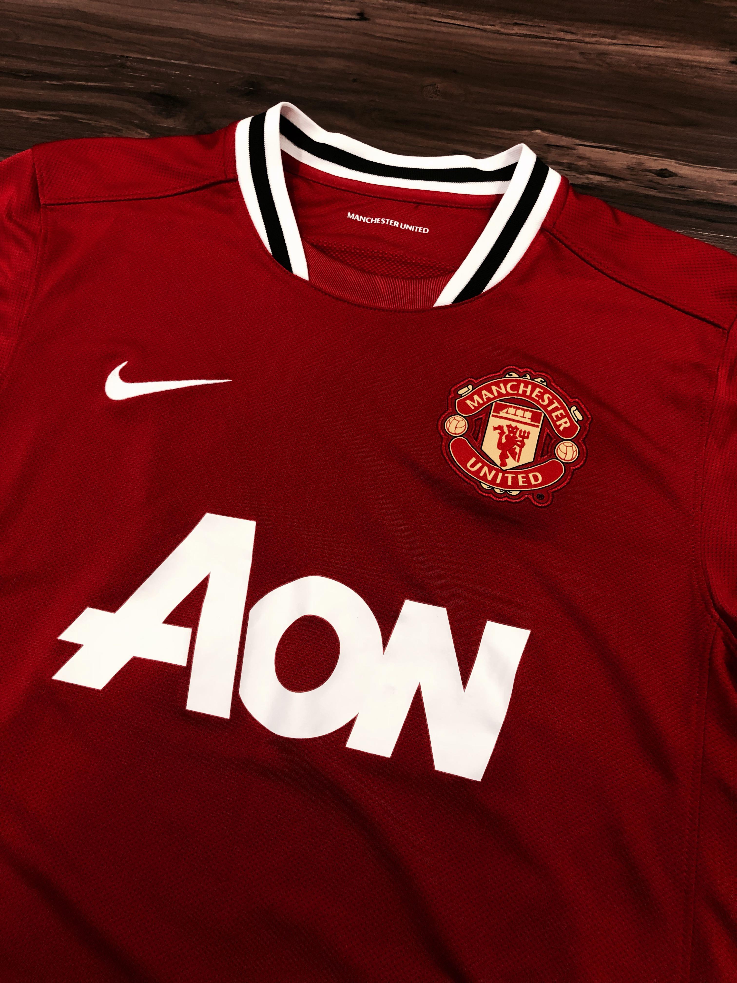 a22502de8b1 Manchester United 2011 12 Home Kit