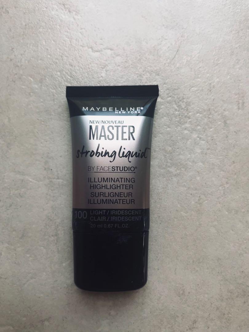 MAYBELLINE Master Strobing Liquid - 100 Light