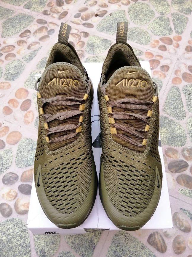 Nike Air Max 270 Triple Olive Size 9.5
