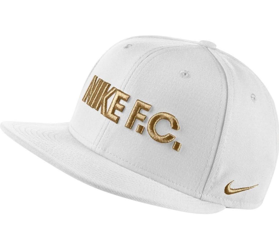 be60389dd86 Nike F.C. Cap Snapback True - White
