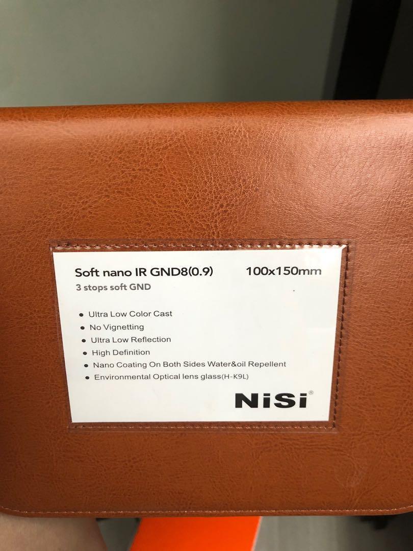 Nisi Soft Nano IR GND8 (0.9) - 3 Stops