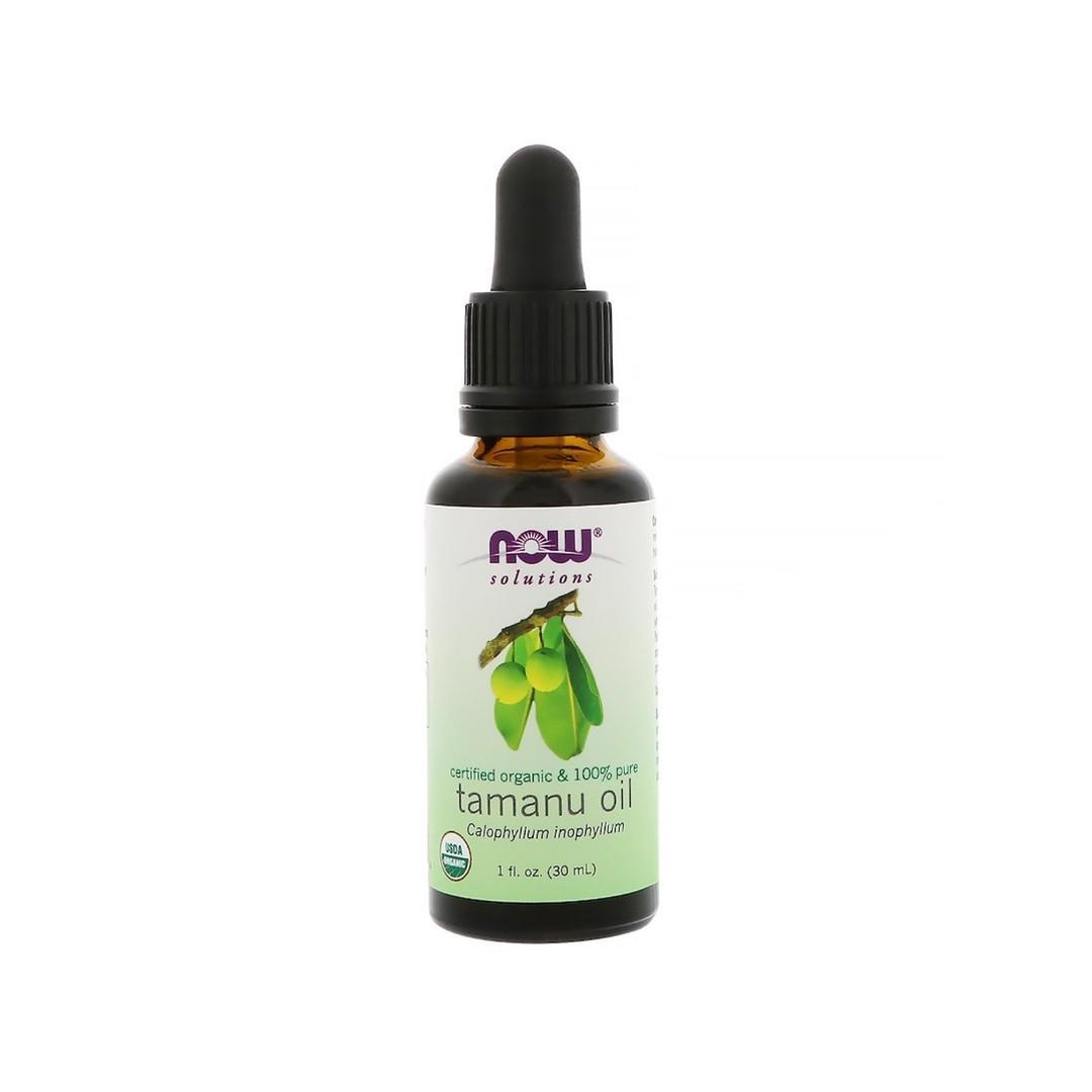 Now Foods Certified Organic Pure Tamanu Oil 1 fl oz 30 ml