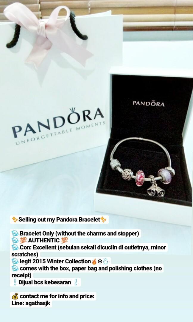 Pandora Bracelet Barang Mewah Aksesoris Di Carousell