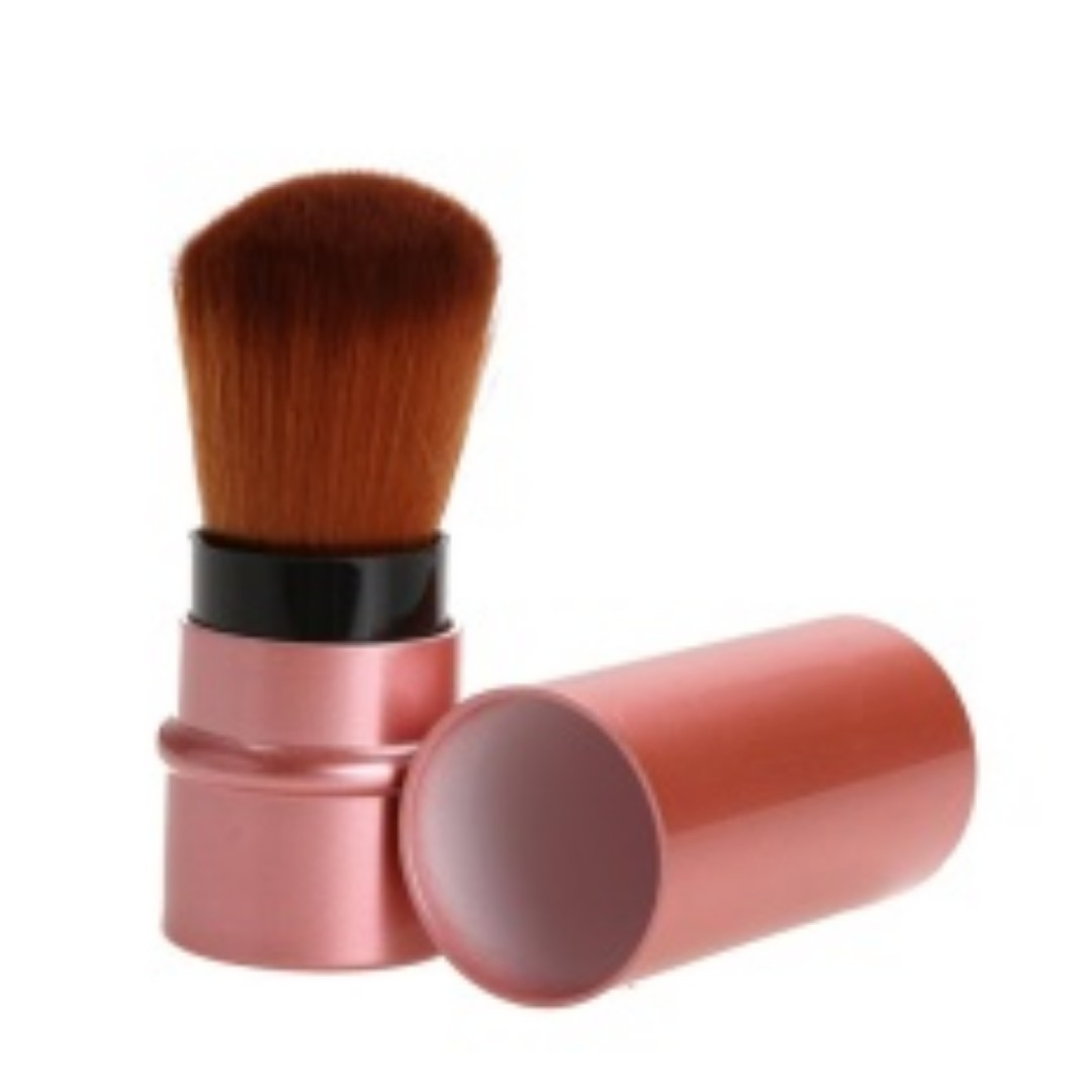 Retractable Cosmetic Brush Makeup Contour Foundation (Rose Gold), Health & Beauty, Makeup on Carousell