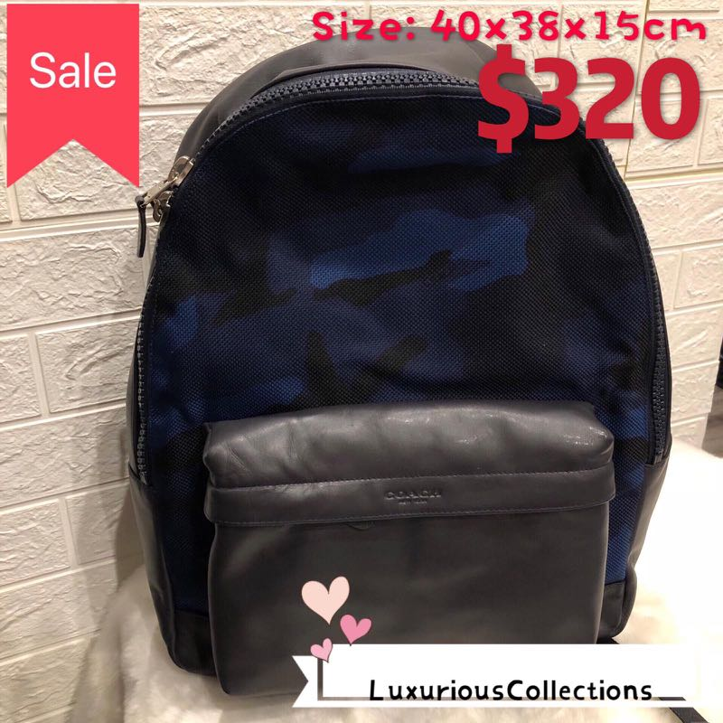 bf21c75dcdc 💥Sale Coach men s backpack