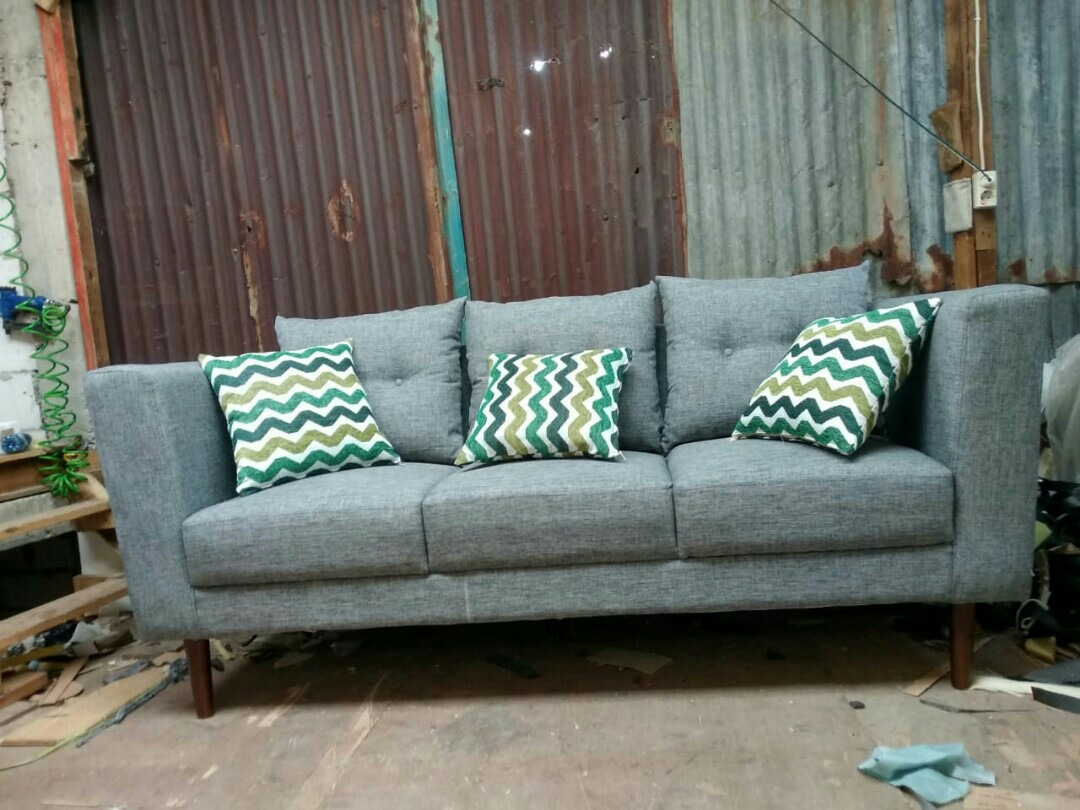 Sofa Minimalis Murah Meriah Home Furniture On Carousell