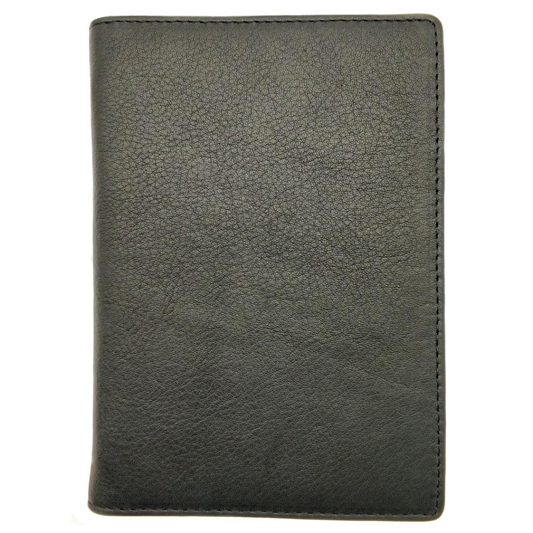 b0f028b45e89 The Ninja Co. Passport Wallet Top Grain Leather Travel Card Holder ...