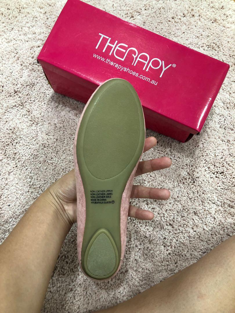 THERAPY SHOES FLATS PINK 7