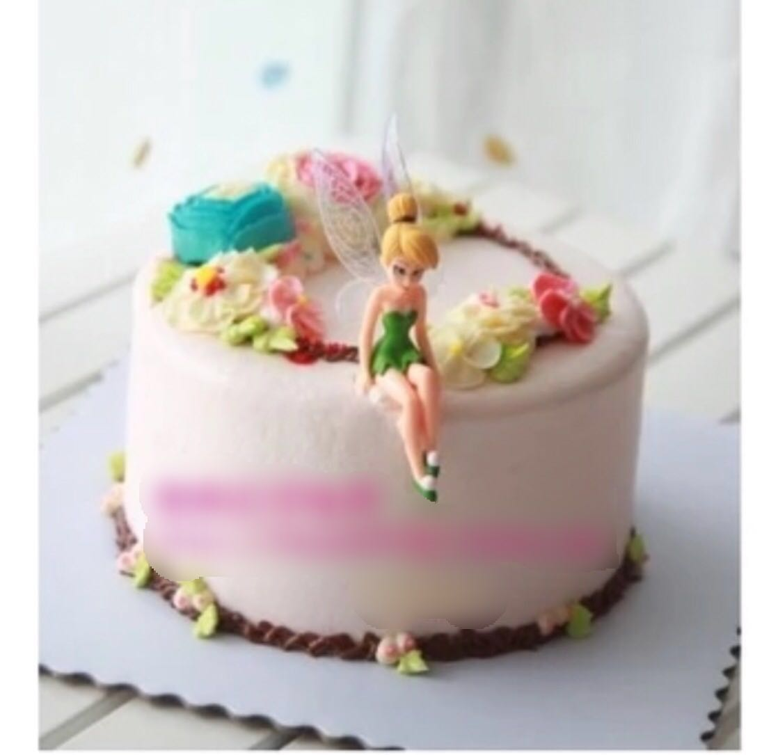 Tinkerbell Peter Pan Cake Topper Figurine Tinker Bell Toy Cupcake