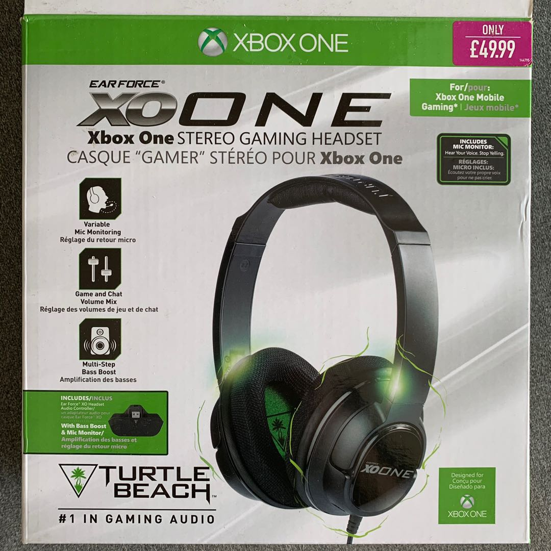 Turtle Beach Xbox One Stereo Gaming Headset