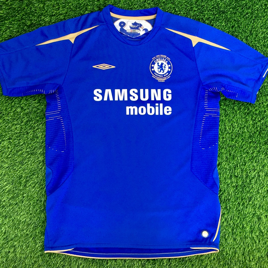 best website 0b31b 45471 Umbro Chelsea Home 2005 - 2006 Shirt Jersey Kit