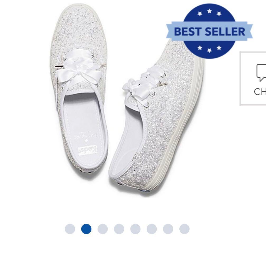 e63f373468f7 Wedding shoes   wedding sneakers   Keds x Kate Spade New York Champion  Glitter