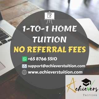 FREE REFERRAL FOR HOME TUITION