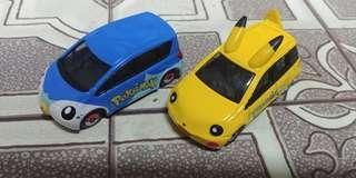 Pokemon Cars Tomica