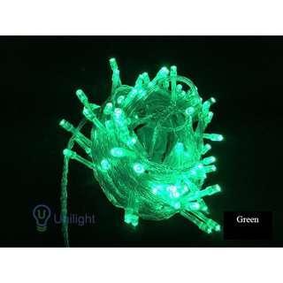 Green Fairy Light 10m [plug]