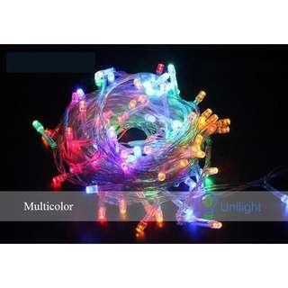 Multi Colour Fairy Lights 10m [plug]