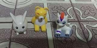 Nestle Digimon Figures