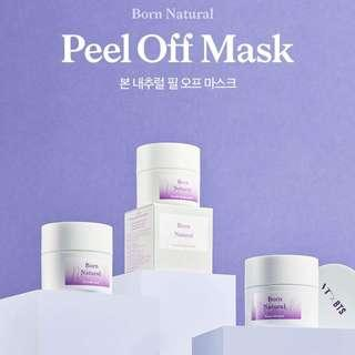[PO] VT X BTS BORN NATURAL PEEL OFF MASK