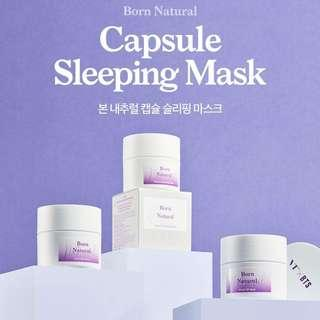 [PO] VT X BTS BORN NATURAL CAPSULE SLEEPING MASK