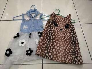 H&m and floral dress (2 for Rm18)