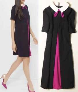 Ted baker collared shift dress