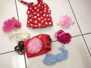 Baby gal hairband (all for RM12)