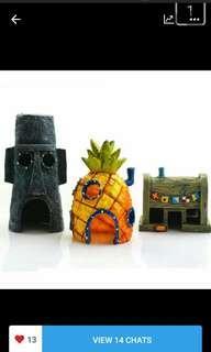 🚚 Spongebob House accessories